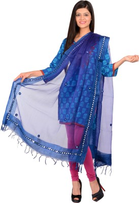 The Home Story Raw Silk Solid Women,s Dupatta