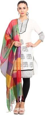 Geetanjali Chanderi Self Design Women's Dupatta