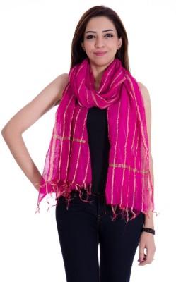Home Shop Gift Chanderi Self Design Women's Dupatta