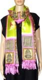 Indian Fashion Guru Raw Silk Printed Wom...