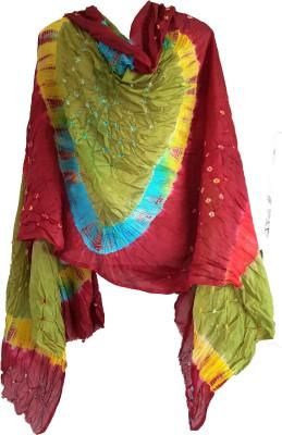 skhoza Art Silk Self Design Women's Dupatta