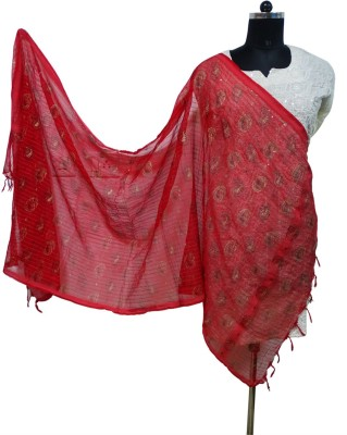 Toygully Cotton Geometric Print, Printed Women's Dupatta