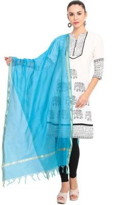 Geetanjali Chanderi Solid Women's Dupatta