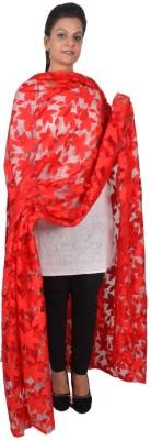 Inblue Fashions Pure Silk Self Design Women's Dupatta