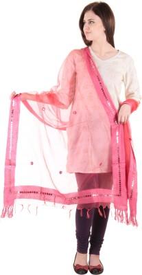 Uniscarf Net Solid Women's Dupatta