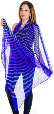 Ooltah Chashma Faux Chiffon Striped Women's Dupatta