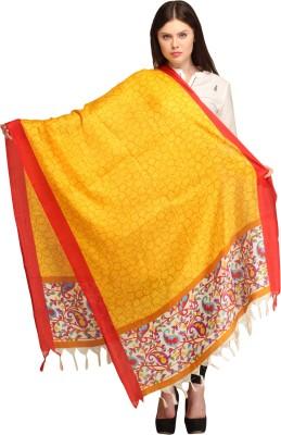 Aksara Art Silk Printed Women,s Dupatta