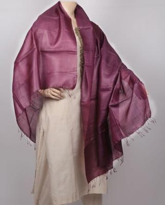 KalaSangam Tussar Silk Solid Women's Dupatta