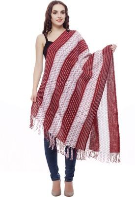 Selfie Pure Wool Self Design Women's Dupatta