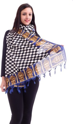 Inara Robes Art Silk Checkered Women's Dupatta