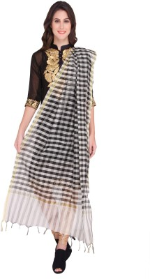 Dupatta Bazaar Dupion Silk Woven Women's Dupatta