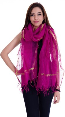 Rangsthali Chanderi Self Design Women's Dupatta