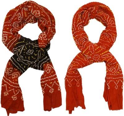 SAANKHYA Cotton Self Design Women's Dupatta