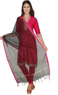 Dupatta Bazaar Net Woven Women's Dupatta