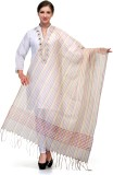 Enchanted Drapes Chanderi Striped Women'...