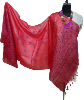 Toygully Pure Silk Geometric Print Women's Dupatta