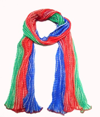 eFashionIndia Faux Chiffon Striped Women's Dupatta