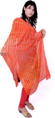 OnaS Faux Georgette Striped Womens Dupatta