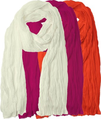 Chatri Fashions Cotton Solid Women's Dupatta at flipkart