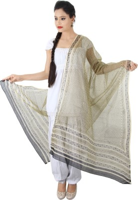 Geeta Silk Cotton Blend Geometric Print Women's Dupatta