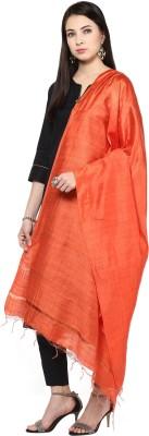 DUPATTA BAZAAR Silk Cotton Blend Solid Women's Dupatta