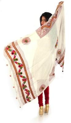Styleincraft Cotton Embroidered Women's Dupatta