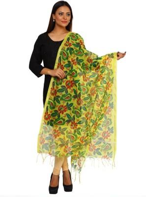 Kataan Bazaar Cotton Woven Women's Dupatta at flipkart