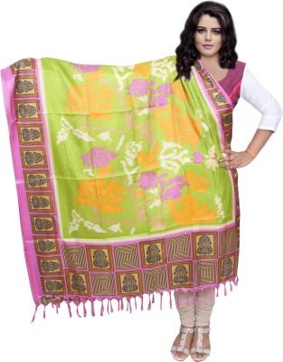 IndiStar Tussar Silk Printed Women's Dupatta