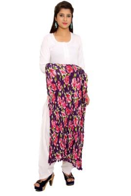 Msons Cotton Floral Print Women's Dupatta