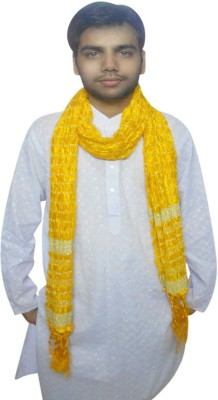 Kalra Creations Silk Cotton Blend Solid Men's Dupatta