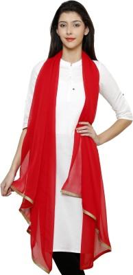 Uniscarf Synthetic Chiffon Solid Women's Dupatta