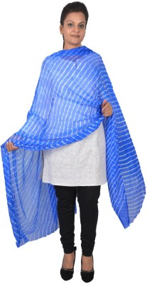 Inblue Fashions Pure Georgette Self Design Women's Dupatta