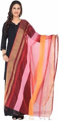 Nikayi Silk Cotton Blend Striped Women's Dupatta