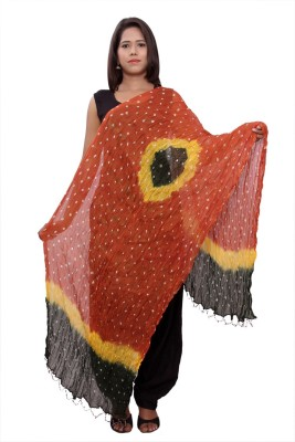 PMS FASHIONS Cotton Polka Print Women's Dupatta
