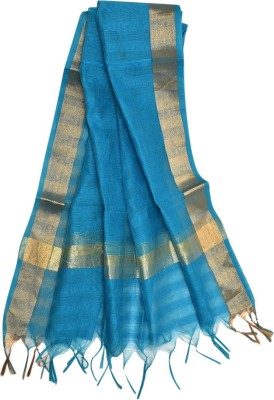 Beleza Silk Cotton Blend Solid Women's Dupatta