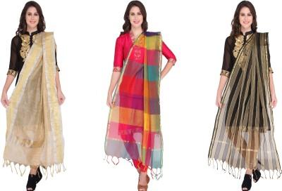 Dupatta Bazaar Art Silk Woven Women's Dupatta