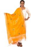 EthnicShack Pure Silk Self Design Women'...