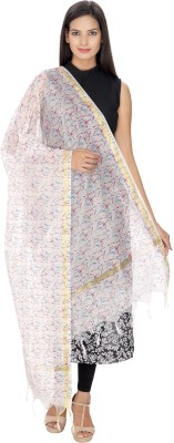 Loom Legacy Pure Silk Printed Women's Dupatta at flipkart