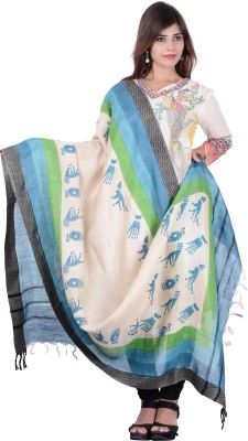Kubuni Cotton Printed Women's Dupatta