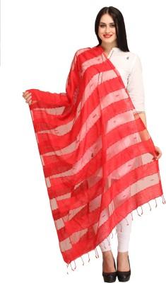 Aksara Organza Striped Women,s Dupatta