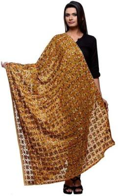 Rutbaa Faux Chiffon Self Design Women's Dupatta