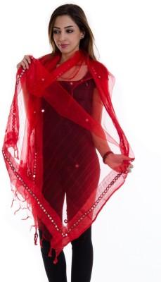 Ooltah Chashma Tussar Silk Self Design Women's Dupatta