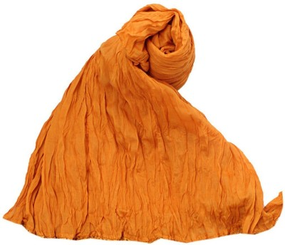 V Brown Kids Dupatta(Orange)