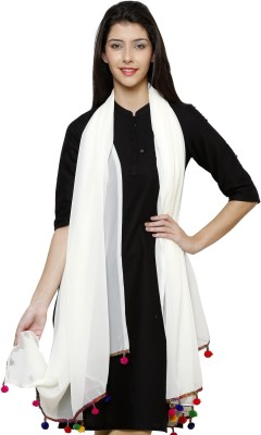 Uniscarf Faux Georgette Solid Women's Dupatta