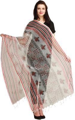 Aksara Poly Cotton Checkered Women,s Dupatta