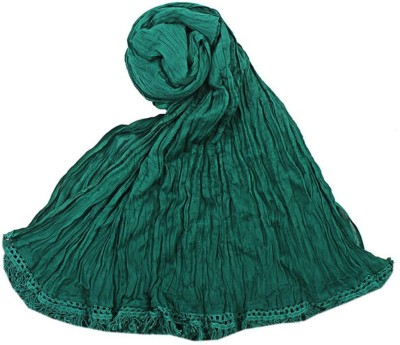 V Brown Kids Dupatta(Green)