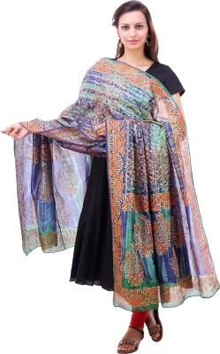 Kubuni Art Silk Printed Women's Dupatta