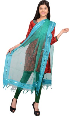 The Home Story Raw Silk Embellished Women,s Dupatta