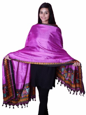Inara Robes Pure Silk Printed Women's Dupatta