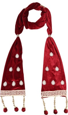 MEN.XS Velvet Embroidered Men's Dupatta